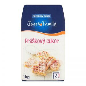 Práškový cukor Sweet Family 1kg
