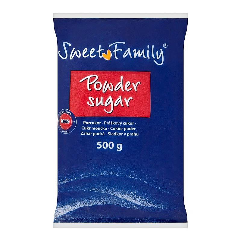 Práškový cukor Sweet Family 500g