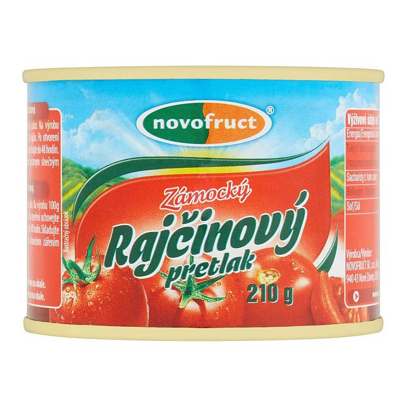 Pretlak rajčinový zámocký Novofruct 210g