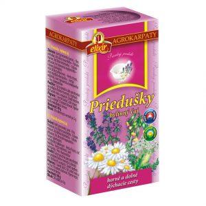 Priedušky bylinný čaj Agrokarpaty 40g