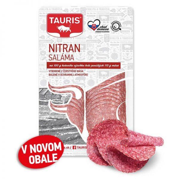 Saláma Nitran Tauris 75g