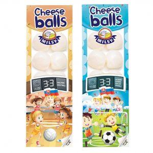 Cheese Balls Syrové guľôčky neúdené MILSY 80g