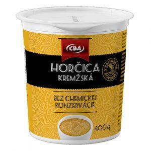 Horčica kremžská CBA donáška ZM
