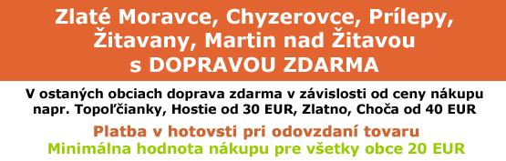 KenguraMarket.sk Nákup od 20 EUR v Zlatých Moravciach, Chyzerovciach, Prílepoch, Žitavanoch s dopravou zdarma, KenguraMarket.sk