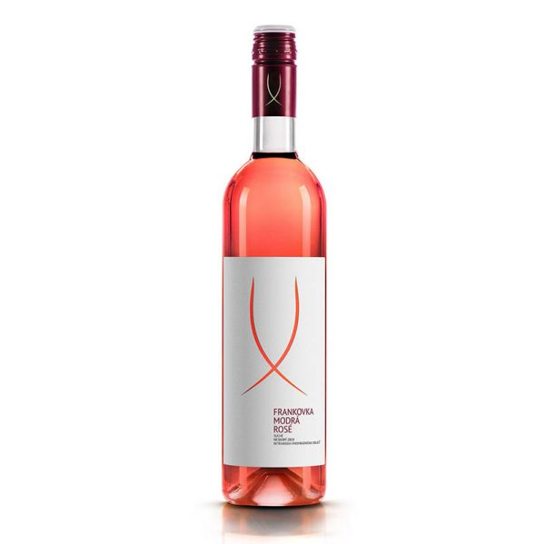Frankovka modrá ROSÉ akostné víno s prívlastkom donášková služba Zlaté Moravce