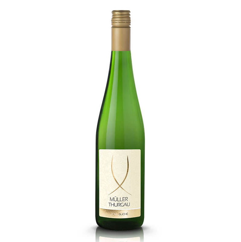 Müller Thurgau slovenské akostné odrodové víno CH.O.P. biele suché Víno Levice 0,75l