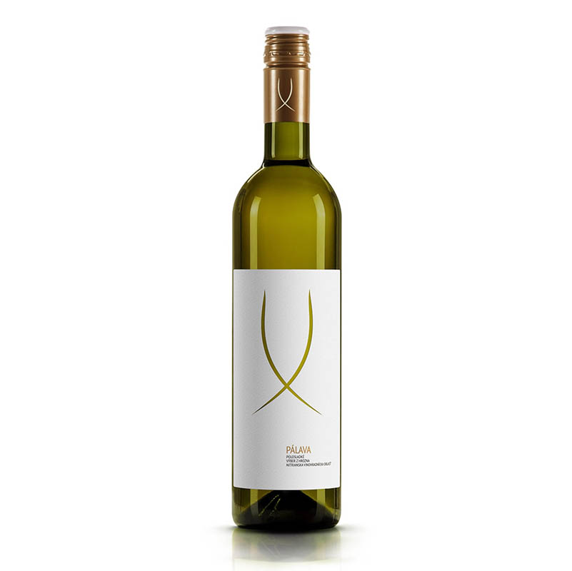 Pálava slovenské akostné odrodové víno s prívlastkom výber z hrozna biele polosuché Víno Levice 0,75l