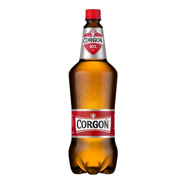 Corgoň 10% svetlé pivo PET 1,5l donášková služba Zlaté Moravce