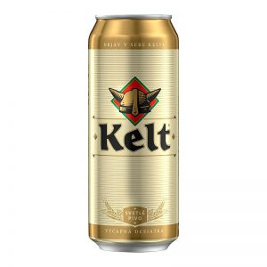Kelt 10% svetlé výčapné pivo 500ml donášková služba Zlaté Moravce