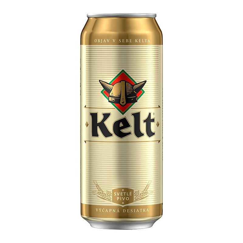 Kelt 10% svetlé výčapné pivo 500ml