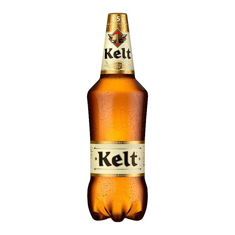 Kelt 10% svetlé výčapné pivo PET 1,5l