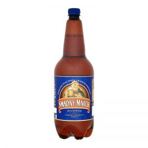 Smädný mních 10% svetlé pivo PET 1,5l donášková služba Zlaté Moravce