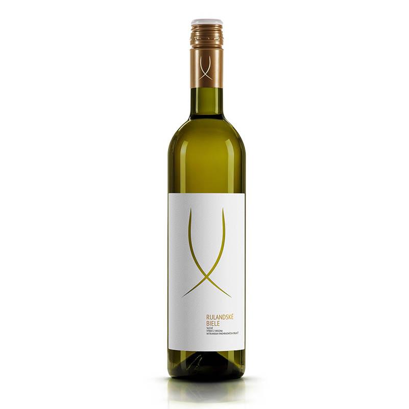 Rulandské biele slovenské akostné odrodové víno s prívlastkom neskorý zber biele suché Víno Levice 0,75l