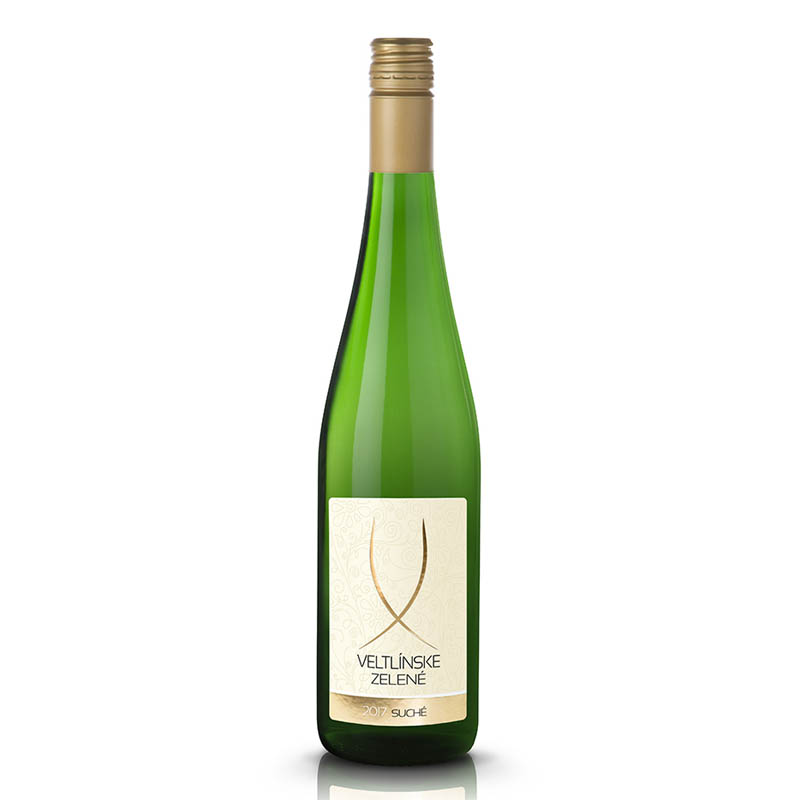 Veltlínske zelené slovenské akostné odrodové víno CH.O.P. biele suché Víno Levice 0,75l