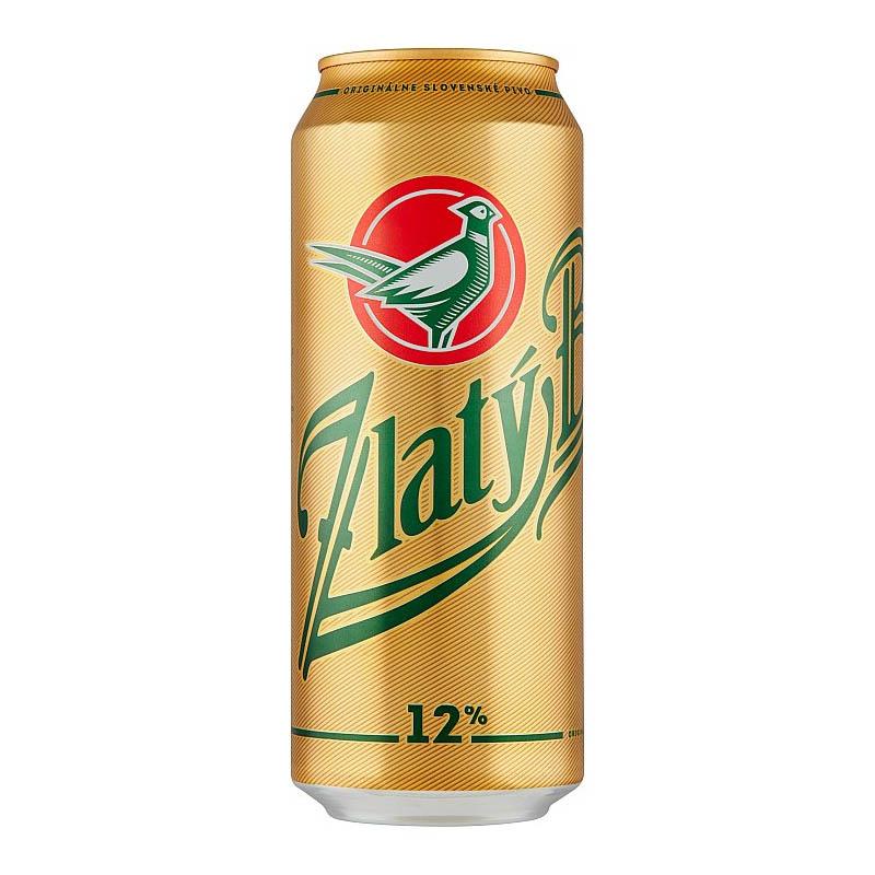 Zlatý bažant 12% pivo svetlý ležiak 500ml