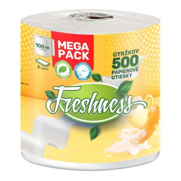 Papierové utierky Mega Pack CBA Freshness 100m donášková služba Zlaté Moravce